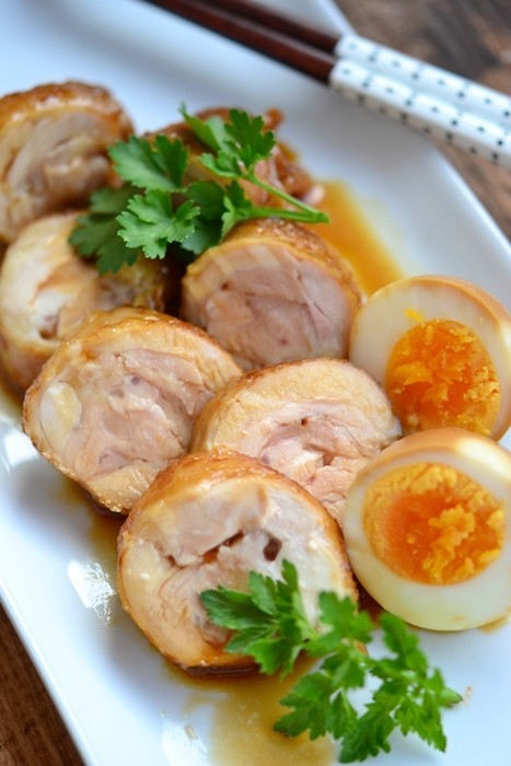 鶏もも肉のチャーシュー【作り置き】