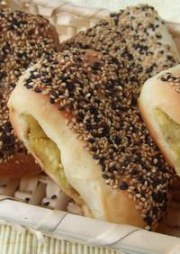 平焼きおさつパン