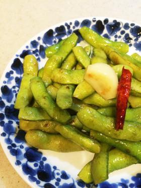 簡単美味しい♪旬の枝豆のペペロンチーノ
