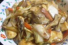 白菜と胸肉のオイスター炒め