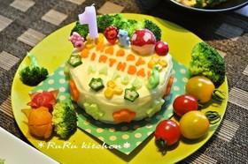 1歳のバースデーに!ポテトケーキ
