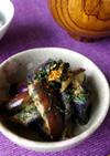津軽の郷土料理 なすのしそ味噌炒め