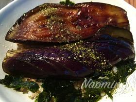 茄子の蒲焼丼❤️マクロビご飯