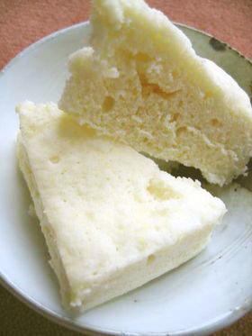 材料2つ♫♬ 簡単甘酒レンジ蒸しパン
