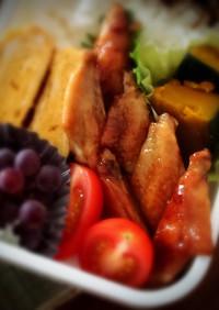 お弁当に〜鶏手羽中の照り焼き柚子胡椒風味