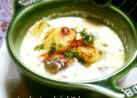 牛肉とポテトの簡単クリームスープグラタン