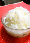 台湾風(雪花氷)♡ココナッツミルクかき氷