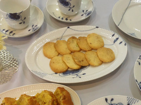 ココナッツオイルのクッキー
