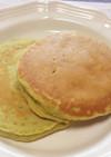 アボカドとアーモンドミルクのパンケーキ
