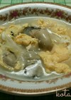 海のミルクスープ(牡蠣スープ)