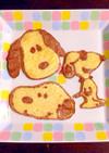 レンジで簡単お絵かきパンケーキアート