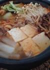 豚肉と冬野菜のチゲ風 昆布入り