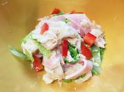 かんぴょうとツナのサラダの写真