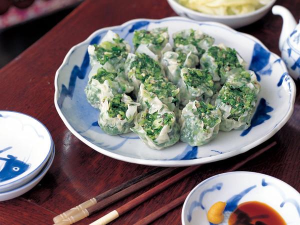 小松菜のシュウマイ