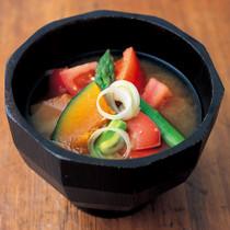トマト入り味噌汁