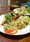 夏野菜のマリネパスタ…冷製と情熱の間