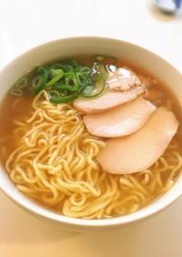 マルちゃん生麺で海老塩ラーメン♪