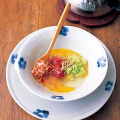 ブロッコリーの茎のかんたんスープ