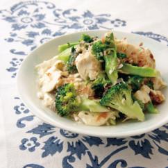ブロッコリーと豆腐の煮もの