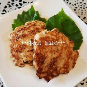 鶏ひき肉で*ヘルシー♡豆腐ハンバーグ*