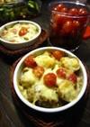 ホタテとトマトの☆チーズ焼き