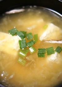 みぞれ汁(大根おろし入り味噌汁)