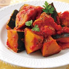 かぼちゃのトマト煮