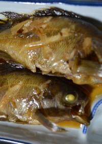 甘辛☆メバル、カサゴの煮つけ