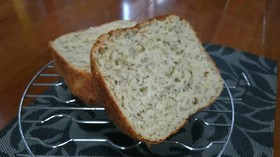 簡単 チアシードの食パン!