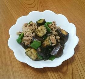 夏野菜の辛子炒め♥