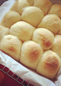 手捏ねでも簡単*塩レモンちぎりパン*
