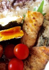 お弁当に〜サバの竜田揚げ柚子胡椒風味