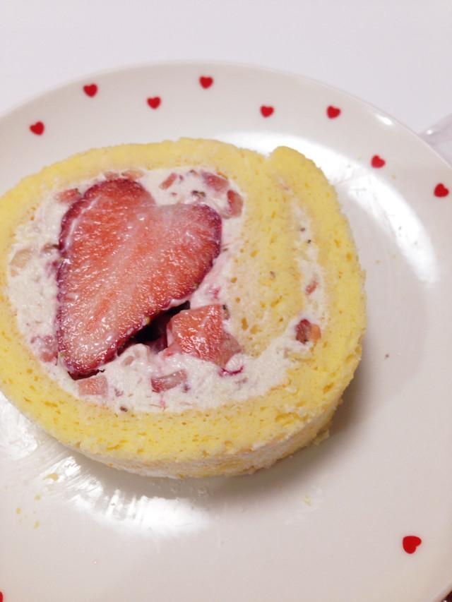 低カロリーのロールケーキ