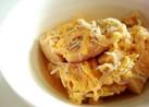 高野豆腐としらすの卵とじ