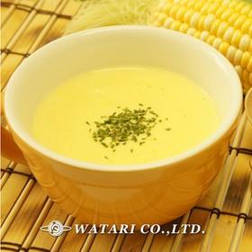 とうもろこしのスープ◇ミキサーなし夏野菜