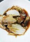 白菜と鯖の味噌煮(中華風)