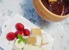 板チョコ&牛乳で簡単☆チョコフォンデュ