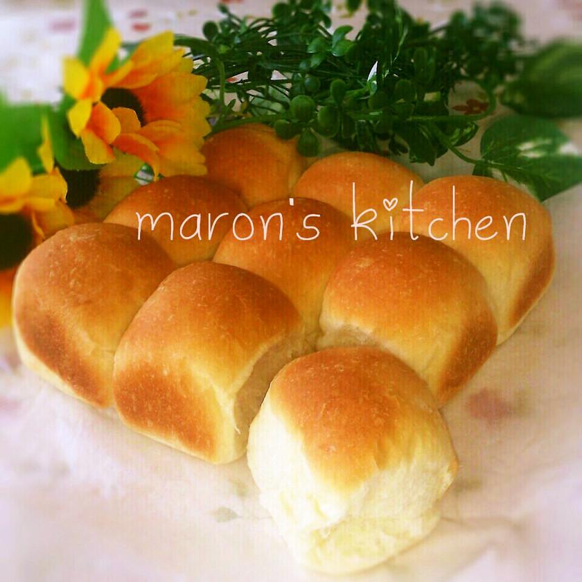 離乳食にも♡HBミルクたっぷりちぎりパン