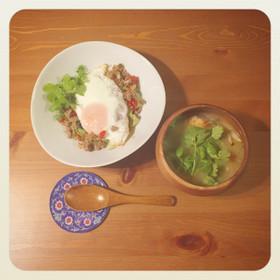 トムヤンクン風 エスニックスープ