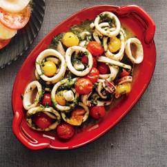 トマトとイカのノリバター