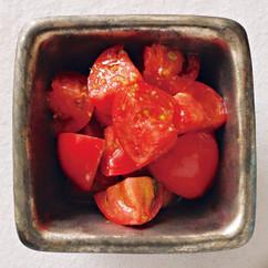 トマト柚子こしょうオリーブオイル