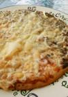 海苔の佃煮♪DE♪ピザ