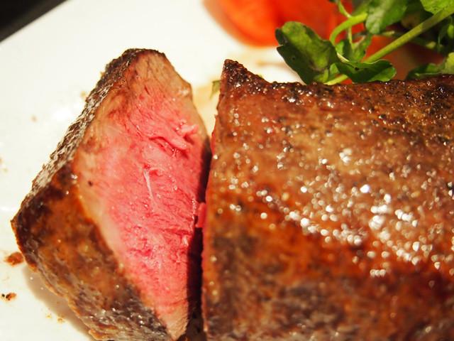 最高の美味!飛騨牛の熟成ランプステーキ