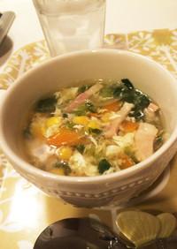 具 たっぷり♡ コンソメスープ