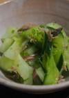白瓜の酢の物