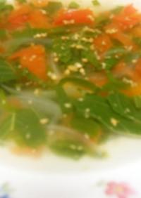 モロヘイヤのスープ 簡単