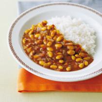 食べごたえ満点!大豆カレー