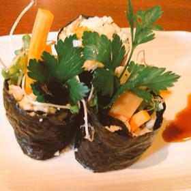 【ベジ】カリフラワーライスで巻き寿司☆
