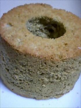 ほうじ茶風味のミニシフォンケーキ