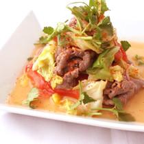 タイ風牛しゃぶサラダ